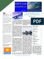 August SeaSwells Newsletter