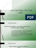 the tide rises the tide falls