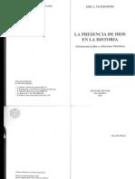 Fackenheim_LA PRESENCIA DE DIOS EN LA HISTORIA
