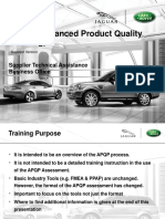 Apqp Training Jlr