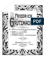 Grutzmacher Bach Suite Score