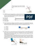 Exercícios de Física