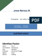 Parese Nervus III Fix