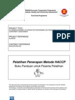 HACCP Training Manual Indonesian