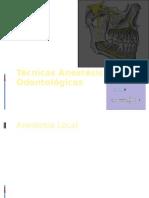 Técnicas Anestésicas Odontológicas - dr sormani.