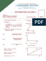 Examen I Bimestral 3ro C