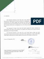 Carta de Santa Sede al Comité de Derechos del Niño 2014