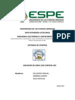 Informe Proyecto Seguidor de Linea