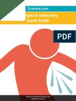 Allergies Immunity