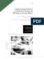 A Epistemologia Sistêmica