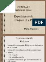 La Experimentacion Bloques III y IV de María Trigueros