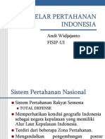 Gelar an Indonesia [Power Point] - Andi Widjajanto