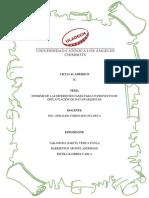 Actividad N° 13_Informe de las diferentes fases para un proyecto de implantación de DataWarehouse