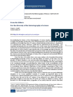 For the diversity of the historiography of science.pdf