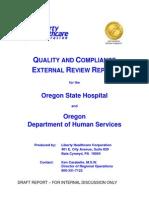 Liberty Healthcare draft report