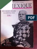 Francois Xavier Guerra LE MEXIQUE Copy