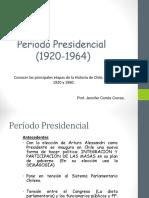 chile  1920 a 1960