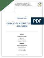 Estimación Mediante Kriging Ordinario