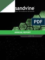 2016 Annual Report Sandvine