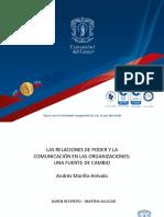 Presentación Relaciones de Poder y Comunicación en Las Organizaciones Final