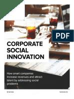 CorporateSocialInnovation Part I