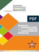 NUEVO LEON Manual de Orientacion Para Los Comites de Convivencia Escolar