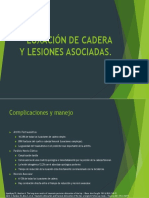Luxación de Cadera y Lesiones Asociadas Ppt