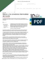 México y Los Corredores Intermodales Del Mundo