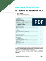 Transforme de Fourier