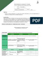 FORMATO N° 6A DEFINICIÓN PLAN OPERATIVO (2016-2017)