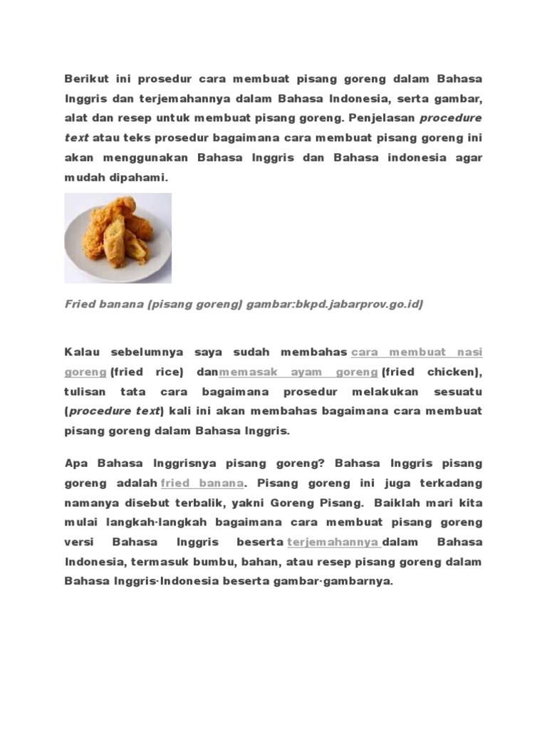 Alat Alat Membuat Nasi Goreng Dalam Bahasa Inggris Brad Erva Doce Info