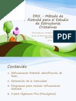 DRX - Metodo de Rietveld Para El Estudio