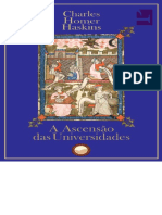 A Ascensão Das Universidades - Charles Homer