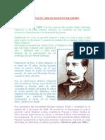 Biografia de Carlos Augusto Salaverry