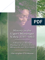Slavery in the Upper Mississippi - Christopher Lehman