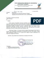 Surat Pelaksanaan Tes Psikometri Tahun 2018