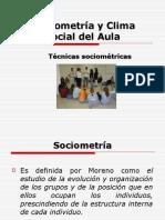 Sociometría y Clima Social Del Aula