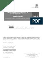 3. Guía de trabajo español