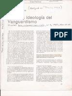 Nicos Hadjinicolaou - Sobre La Ideología Del Vanguardismo