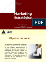 Curso Marketing Estrategico 2010 II 2 Unidad