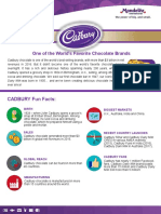 Cadbury Fact Sheet