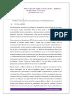 Aplicación de Buenas Prácticas de Manufactura a Empresa de Helados Artesanal