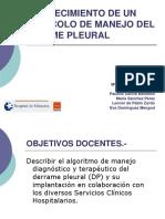 Protocolo de Manejo Del Derrame Pleural