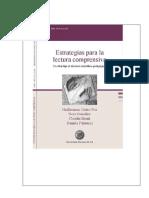 Estrategias para la lectura comprensiva. Castro Fox González Monti y Palmucci