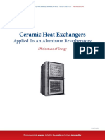 Ceramic Heat Exchanger Case History