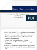 Section 3 Reading Comprehension newest