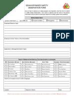 GS 3004 BBS Observation Form