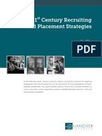 21st Century Recruiting and Placement Strategies