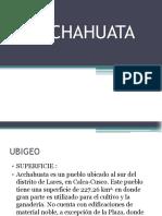 Acchahuata Expo