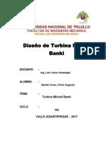 Diseño de Turbina Michell Banki.docx